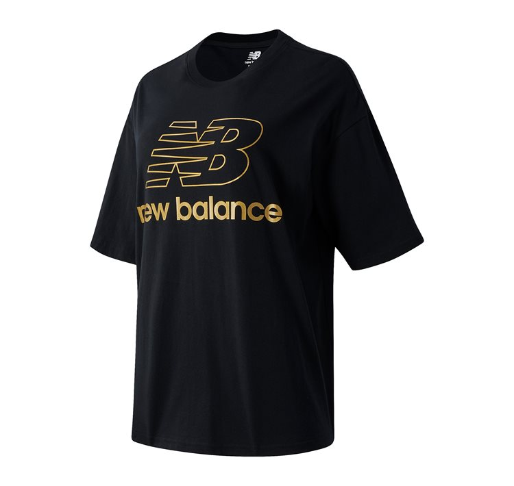 NB Athletics Village Short Sleeve Stacked Graphic T