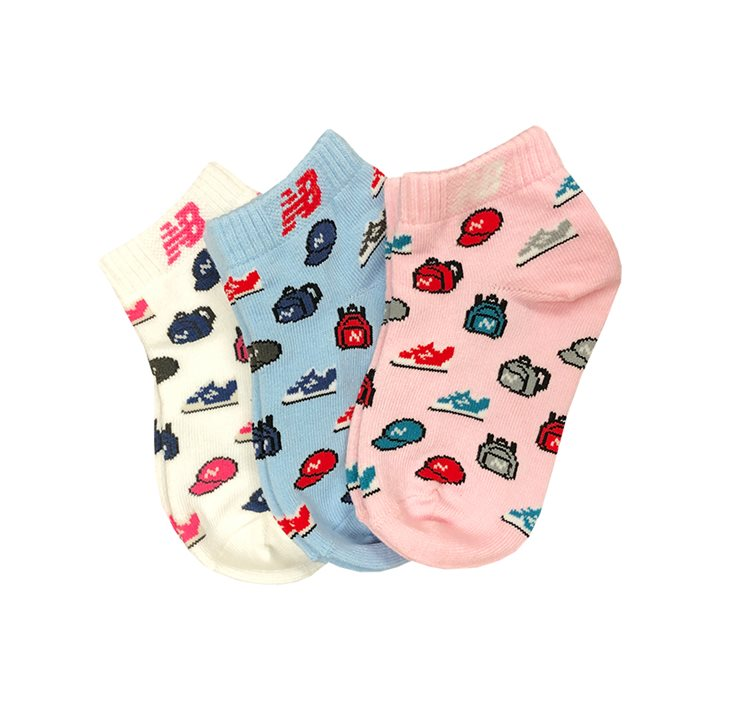 Toddler Low Cut 3 Pair